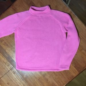 L.L. Bean Roll Neck Sweater, size S